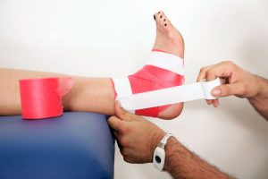 Foot Rehabilitation options at Mystic Spine & Sport